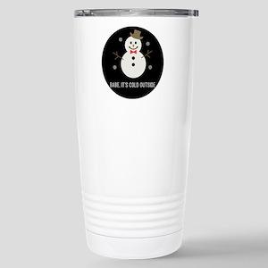 Snow Gent Stainless Steel Travel Mug