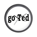 go Ted Wall Clock