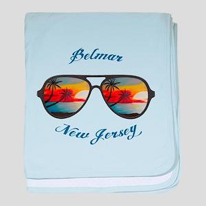 New Jersey - Belmar baby blanket