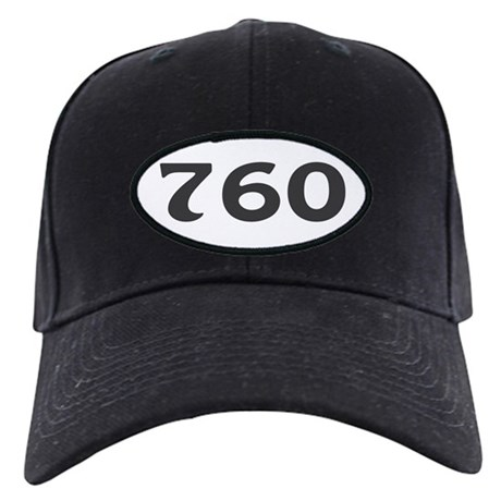 760 Area Code Black Cap