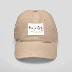 Om Mani Padme Hum Lotus Sutra Cap