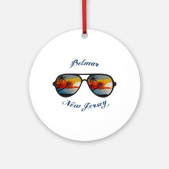 New Jersey - Belmar Round Ornament