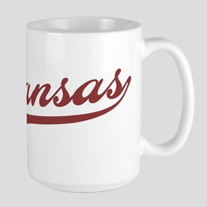 Retro Arkansas Large Mug