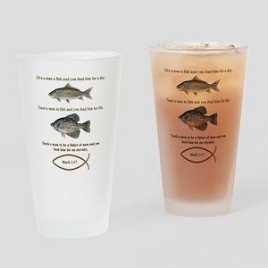 Fishermen Drinking Glass