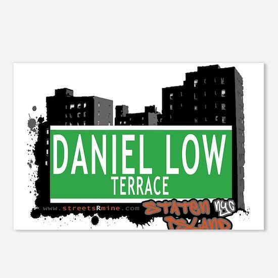 DANIEL LOW TERRACE, STATEN ISLAND, NYC Postcards (