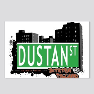 DUSTAN STREET, STATEN ISLAND, NYC Postcards (Packa