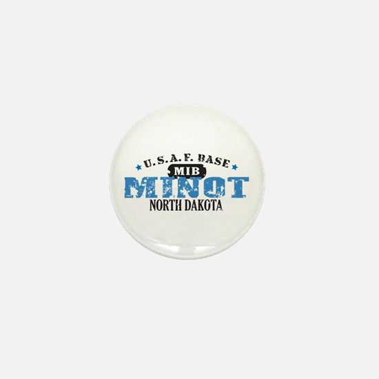 Minot Air Force Base Mini Button