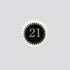 Cool 21 Mini Button