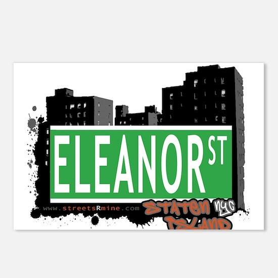 ELEANOR STREET, STATEN ISLAND, NYC Postcards (Pack