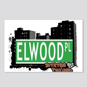 ELWOOD PLACE, STATEN ISLAND, NYC Postcards (Packag