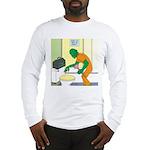 Fish Guy Plumber Long Sleeve T-Shirt