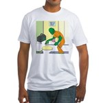Fish Guy Plumber Fitted T-Shirt
