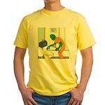 Fish Guy Plumber Yellow T-Shirt