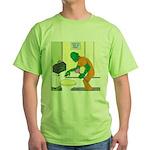 Fish Guy Plumber Green T-Shirt