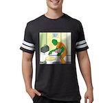 Fish Guy Plumber Mens Football Shirt