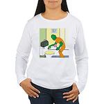 Fish Guy Plumber Women's Long Sleeve T-Shirt