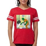 Fish Guy Plumber Womens Football Shirt