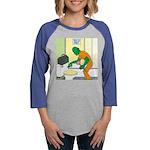 Fish Guy Plumber Womens Baseball Tee