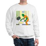 Fish Guy Plumber Sweatshirt
