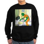 Fish Guy Plumber Sweatshirt (dark)