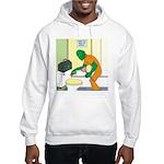Fish Guy Plumber Hooded Sweatshirt