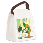Fish Guy Plumber Canvas Lunch Bag