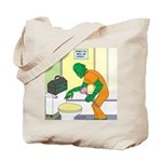Fish Guy Plumber Tote Bag