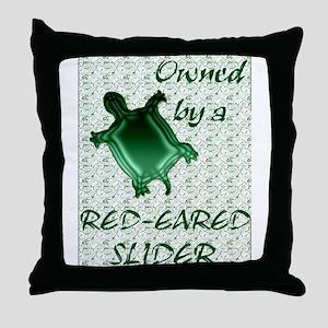 Red-eared Slider Throw Pillow