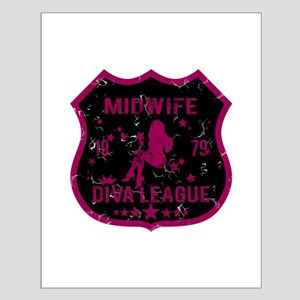 Midwife Diva League Small Poster