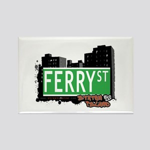 FERRY STREET, STATEN ISLAND, NYC Rectangle Magnet