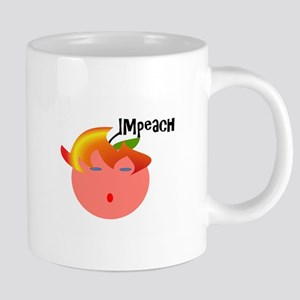 Impeach the peach 20 oz Ceramic Mega Mug