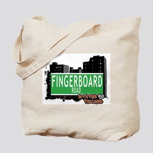 FINGERBOARD ROAD, STATEN ISLAND, NYC Tote Bag