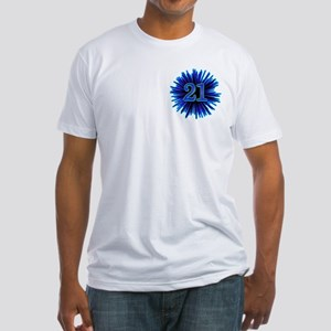 Cool 21st Birthday Fitted T-Shirt