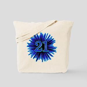 Cool 21st Birthday Tote Bag