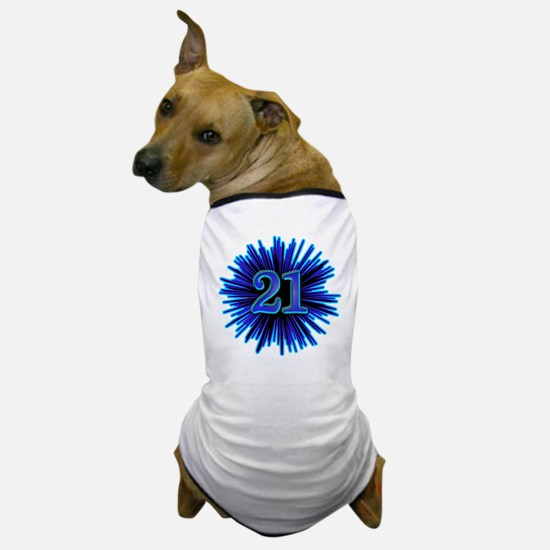 Cool 21st Birthday Dog T-Shirt