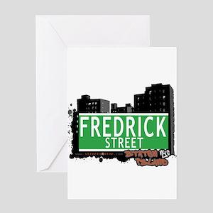 FREDRICK STREET, STATEN ISLAND, NYC Greeting Card