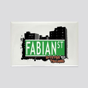 FABIAN STREET, STATEN ISLAND, NYC Rectangle Magnet