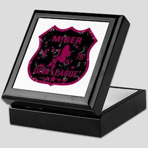 Miner Diva League Keepsake Box
