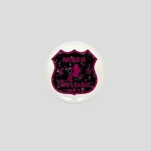 Miner Diva League Mini Button