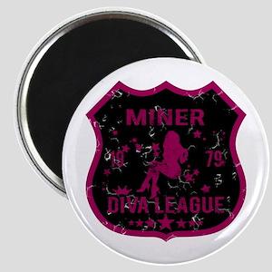 Miner Diva League Magnet