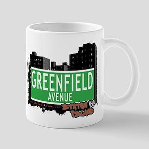 GREENFIELD AVENUE, STATEN ISLAND, NYC Mug