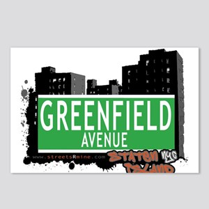 GREENFIELD AVENUE, STATEN ISLAND, NYC Postcards (P