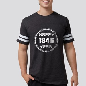 Happy 1946 Year Designs Mens Football Shirt