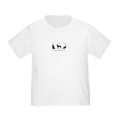 Dog toddler t-shirt