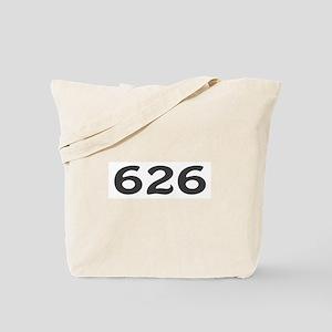 626 Area Code Tote Bag