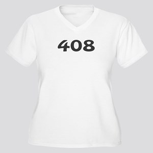 408 Area Code Women's Plus Size V-Neck T-Shirt