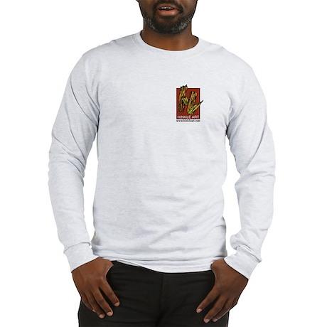 Hinkle Art & Angel -Long Sleeve T-Shirt