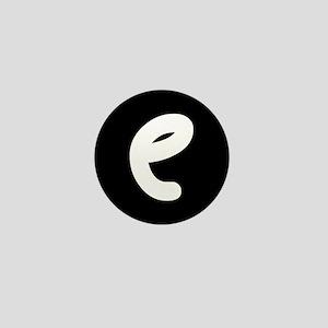 Alphabet Mini Button (e)