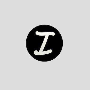 Alphabet Mini Button (I)