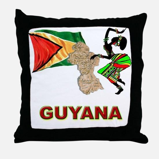 Guyana Throw Pillow